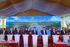 Khởi công xây dựng nút giao đường vành đai 3 với đường cao tốc Hà Nội – Hải Phòng
