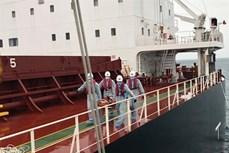 庆和省:成功营救一名在海上遇险的菲律宾船员