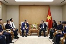 美国—韩国投资者关注越南液化天然气项目