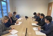 欧洲议会议长萨索利支持加强越欧全面合作关系