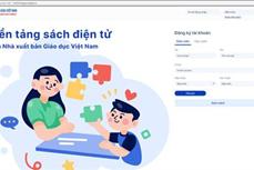 Ra mắt phiên bản điện tử sách giáo khoa lớp 1 theo chương trình giáo dục phổ thông 2018 của Nhà xuất bản Giáo dục Việt Nam