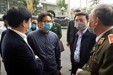 武德儋副总理视察广宁省新型冠状病毒感染的肺炎防控工作情况