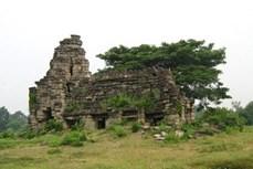 Phát hiện tượng sư tử cổ tại quần thể đền nổi tiếng của Campuchia