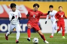 2020年东京奥运会女足预选赛第三轮比赛:越南队击败缅甸队
