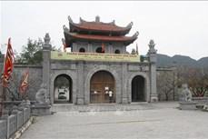 Dịch COVID-19: Khu Di tích lịch sử - văn hóa Cố đô Hoa Lư tạm thời dừng đón khách để phòng chống dịch bệnh