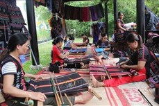 提高达渥族传统土锦纺织业的价值