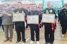 Thiếu lâm Long Phi hòa quyện võ học Việt-Hoa