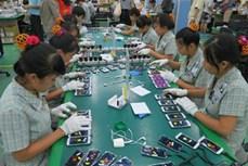 今年2月份越南对中国出口程增长态势