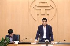 """Dịch COVID-19: Chủ tịch UBND thành phố Hà Nội khẳng định thông tin về việc """"Hà Nội tiến hành phong tỏa"""" là sai sự thật"""