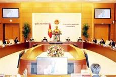 越南国会常务委员会第43次会议开幕 听取有关疫情防控工作报告