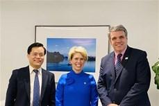 东盟与美国贸易发展署和进出口银行深化合作