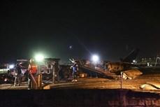 菲律宾一架飞机起飞前坠毁 机上8人全部遇难