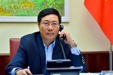 2020东盟轮值主席年:范平明与菲律宾外长洛钦举行电话会谈