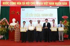 """Bảo tàng tỉnh Đắk Lắk tiếp nhận hiện vật và trưng bày chuyên đề """"Dấu ấn thời gian"""""""