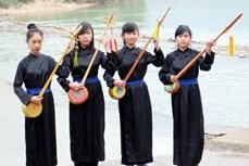 越南广宁省岱依族同胞的传统乐器——丁琴