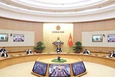 政府总理阮春福主持召开政府与各地方视频会议 讨论应对疫情影响各大措施