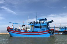 越南不允许未安装监控系统的渔船出海捕捞