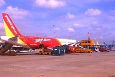 越捷每天执行10班全货运航班
