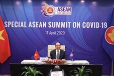 越南政府总理阮春福在东盟抗击新冠肺炎疫情特别峰会上致开幕词