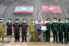 Bộ đội biên phòng Thừa Thiên Huế chúc Tết Bunpimay 2020