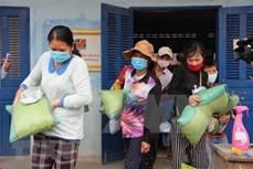 伸出援手 助力越裔柬埔寨人渡过疫情难关