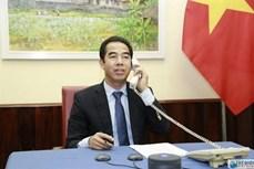 越南外交部副部长与英国务卿通电话