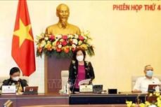 Khai mạc Phiên họp thứ 44 của Ủy ban Thường vụ Quốc hội