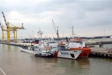 越中2020年首次北部湾共同渔区海上联合检查行动圆满结束