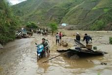 Nguy cơ cao lũ quét và sạt lở đất, ngập lụt ở vùng núi Tây Bắc