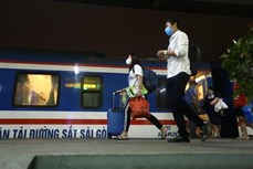 自4月24日起越南多条铁路线路客运恢复运行