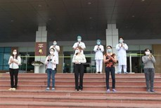 新冠肺炎疫情:越南新增治愈出院患者5例