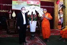 Phó Thủ tướng Thường trực Chính phủ Trương Hòa Bình chúc mừng Tết cổ truyền Khmer Chôl Chnăm Thmây