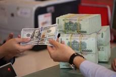 4月28日越盾对美元汇率中间价下调10越盾