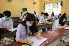 越南全国多地学生开始重返校园 河内市初中以上学生5月4日起返校