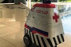 Dịch COVID-19: Nghiên cứu chế tạo thành công robot vận chuyển trong các khu vực cách ly có nguy cơ lây nhiễm cao