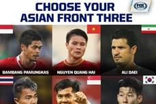 阮光海跻身亚洲足球史上最佳进攻球员名单