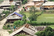 Sơn La: Nhiều nhà dân bị thiệt hại do mưa dông