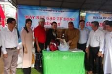 """Lan tỏa mô hình """"ATM gạo"""" về vùng sâu, vùng xa Bình Phước"""