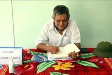 Cựu chiến binh Nguyễn Ngọc Sáu làm kinh tế giỏi, giàu lòng nhân ái