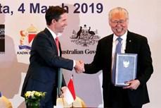 《印尼-澳大利亚全面经济伙伴关系协定》将于7月5日生效