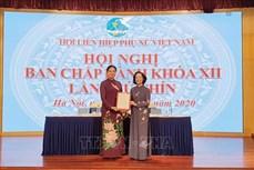 Bà Hà Thị Nga làm Chủ tịch Hội Liên hiệp Phụ nữ Việt Nam