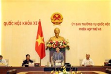 越南国会常委会第45次会议开幕