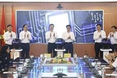 越南政府副总理武德儋出席Vpostcode邮政地址编码平台上线仪式