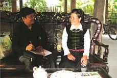 Người gìn giữ nét đẹp văn hóa Tày