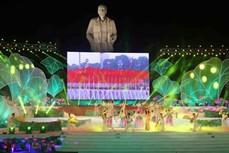 """Liên hoan tiếng hát Làng Sen toàn quốc với chủ đề """"Sáng mãi tên Người"""""""