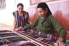 Khôi phục nghề dệt thổ cẩm của người M'Nông