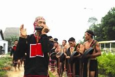 Nghi thức đón bạn trong lễ hội của người M'Nông