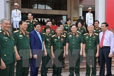 Thượng tướng Ngô Xuân Lịch thăm, chúc sức khỏe nguyên Tổng Bí thư Lê Khả Phiêu