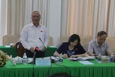 Phó Chủ tịch Quốc hội Uông Chu Lưu, làm việc với lãnh đạo thành phố Cần Thơ
