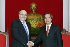 Trưởng ban Kinh tế Trung ương Nguyễn Văn Bình tiếp đoàn chuyên gia Quỹ Tiền tệ Quốc tế